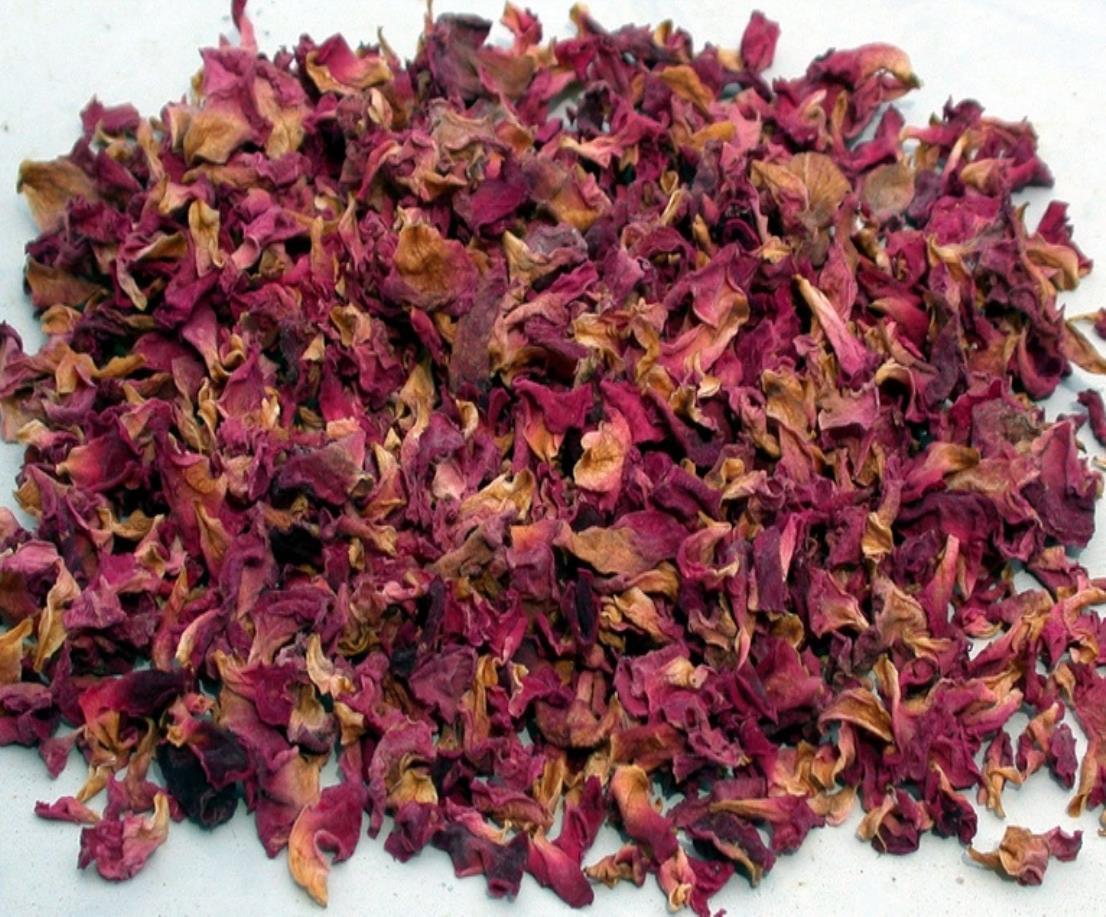 Dry Rose Petals | Angel Botanicals